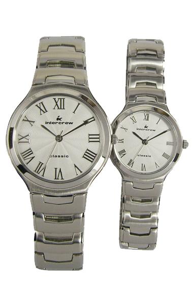 韩国时尚全钢表  intercrew手表工厂 情侣手表定做 高端定制手表定制