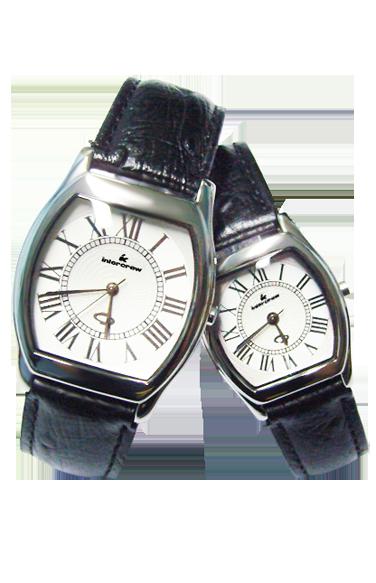手表工厂 真皮情侣手表定制 婚礼手表礼品表 天泽时商务手表定做 对表批发