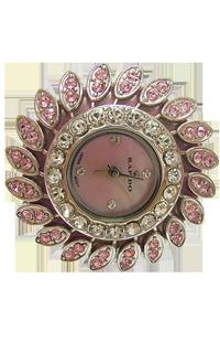 施华洛水钻戒指表 intercrew深圳手表工厂 女士时尚手表定制