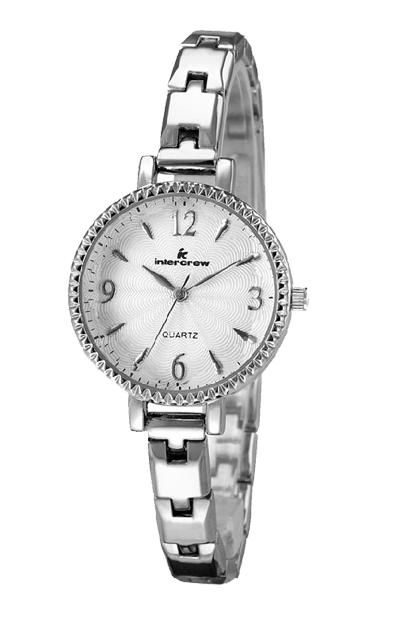 intercrew手表工厂 女士时尚钢带手表定制 韩国风礼品表