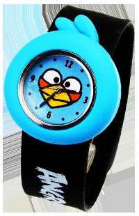 愤怒的小鸟授权正品 深圳天泽时手表定制 儿童卡通手表