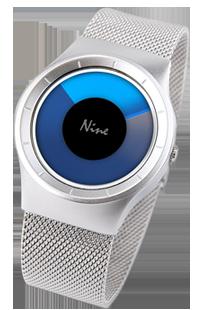 韩国NO.9男士手表手表厂家,个性创意概念防水表