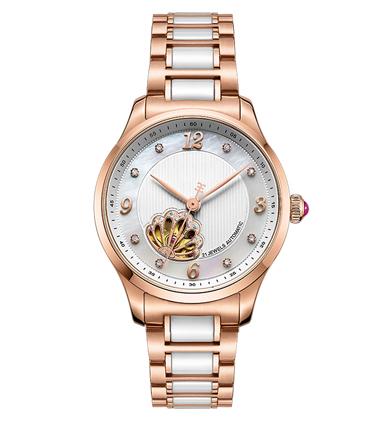 镂空机械女士手表